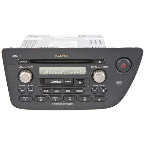 2002 Acura Tl Radio Code by 2002 Acura Rsx Radio Or Cd Player Radio Am Fm Cass 6cd