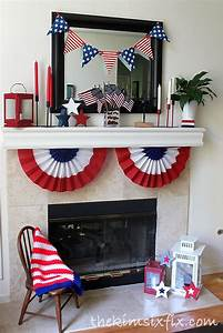 Hometalk 12 Patriotic Memorial Day Mantels