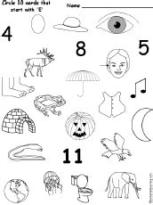 things that start with the letter e letter e alphabet activities at enchantedlearning 30321