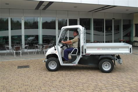 Electric Utility Vehicles Alke With Cargo Bed