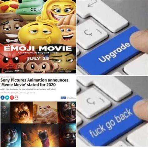 upgrade meme dopl3r memes emoji july 28 sony pictures animation announces meme slated for