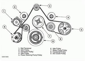 03 Ford Taurus Belt Diagram