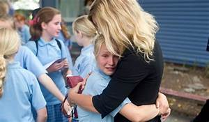 Emotional children say goodbye to school days   Stuff.co.nz