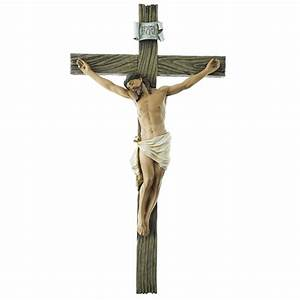 SALE! INRI Wall Cross Crucifix Religious Good Jesus Wooden