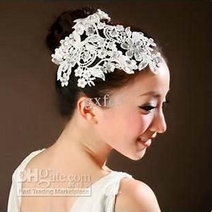 New Pearl Wedding Hair Accessories Diamond White Flower