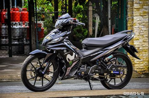 Modifikasi Mx King Warna Hitam by Warna Modifikasi Jupiter Mx Kumpulan Modifikasi Motor