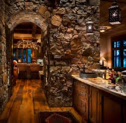 western themed bathroom ideas whitefish yacht club residence rustic home bar other metro by locati architects