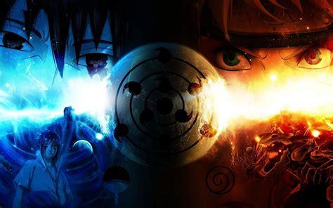 Naruto Fire And Ice Hd Anime Wallpaper Desktop Wallpapers 4k High Definition Windows 10 Mac