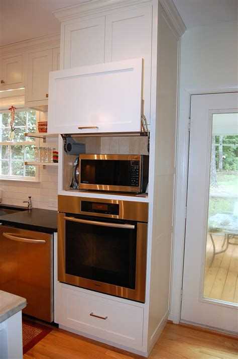 kitchen cabinet for wall oven microwave placement in new kitchens above ovens google