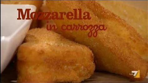 mozzarella in carrozza parodi braciole dell benedetta parodi e fabio caressa