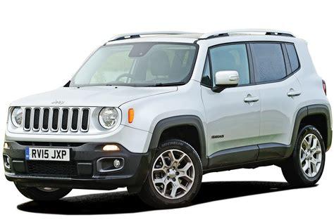 car jeep jeep renegade suv interior dashboard satnav carbuyer