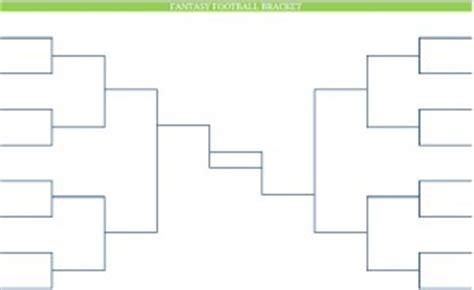 printable blank  nfl fantasy football brackets