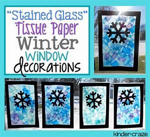 Festive Winter Window Decor and a Freebie