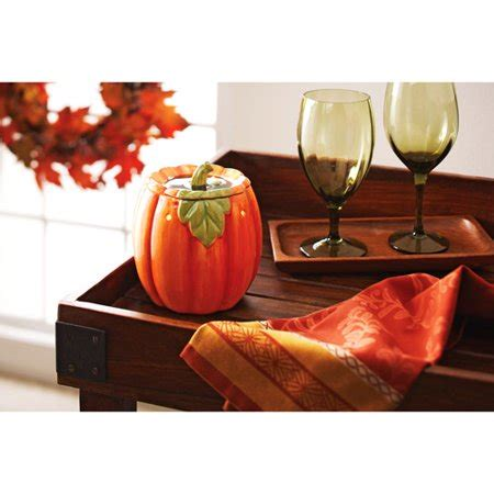 homes  gardens pumpkin wax warmer walmartcom