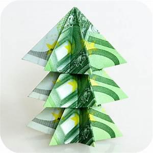 Stern Falten Geld : weihnachtsbaum aus 100 euro scheinen mit dieser anleitung ~ Lizthompson.info Haus und Dekorationen