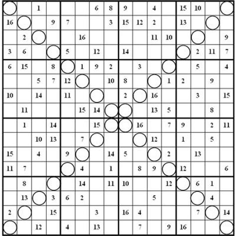 Play online or print them out for free. Image result for free 16x16 super challenger sudoku | Sudoku, Sudoku puzzles, Math