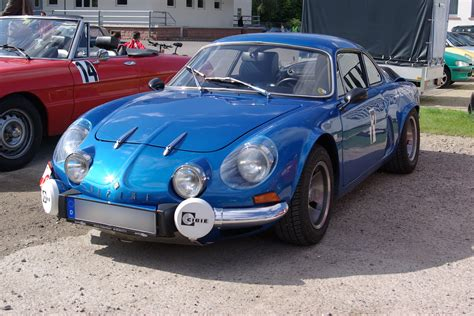 Renault A110 by Renault Alpine A110