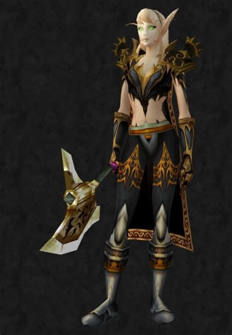 transmog wow gold armor rogue plate warcraft cloak shoulder mail pauldrons sexiest horde chest void exalted theme rogues idea google