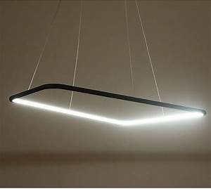 Quot quadrate modern led pendant light place