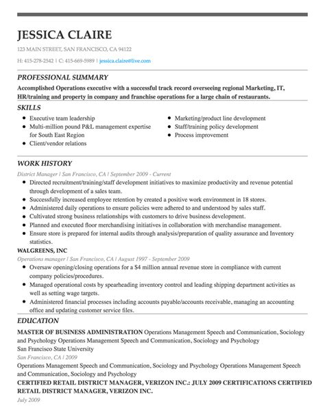 Free Resume Builder by Resume Maker Write An Resume With Our Resume Builder