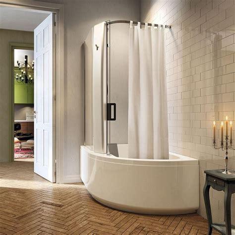 curva vasca da bagno vasca doccia combinata la soluzione perfetta tutto in uno