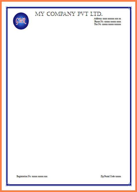 letterhead template company letterhead
