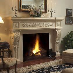 parisian stone fireplace mantel victorian indoor fireplaces other by mantelsdirect com