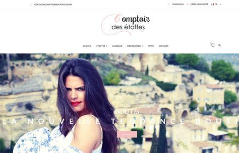 Le Comptoir Des Etoffes by Cr 233 Ation Site Marseille Agence Web Marseille