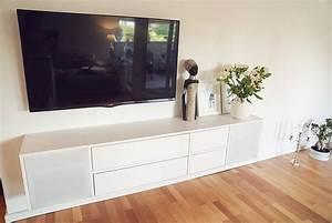 Tv Lowboard Ikea : diy tv lowboard mit akustikstoff sound durch versteckte ~ A.2002-acura-tl-radio.info Haus und Dekorationen