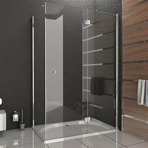 Massivholzplatte 200 X 80 : duschabtrennung duschkabine rahmenlos walk in dusche alpenberger glasdusche ca 120 x 80 ~ Bigdaddyawards.com Haus und Dekorationen