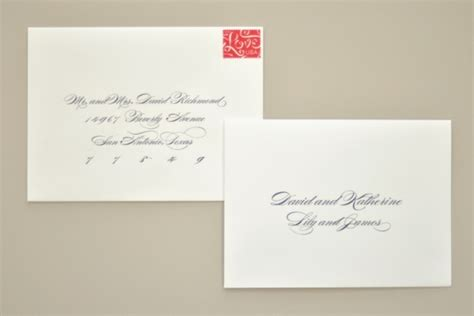 how to address an envelope to a family at your wedding yay or nay