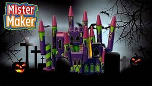 Creepy Halloween Castle