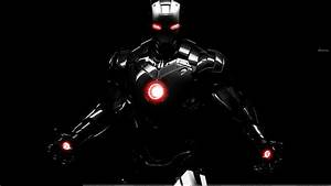Iron Man Suit In Launching Position In Iron Man 3 Wallpaper