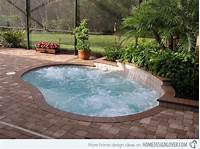 great patio pool design ideas 15 Great Small Swimming Pools Ideas   Home Design Lover