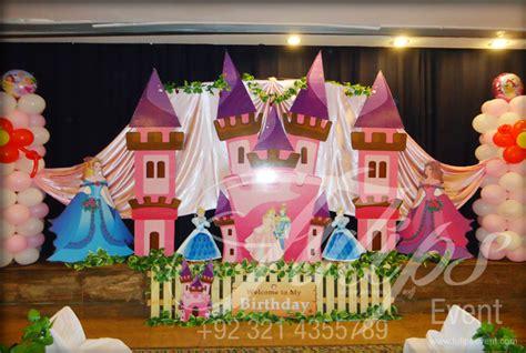 plan disney princess cinderella theme party decoration