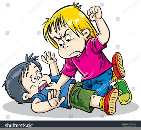 Fighting Clipart Free Clipart Children Fighting Free Images At Clker