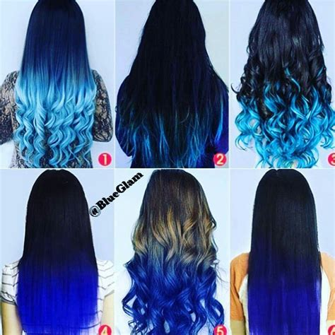 colorful ombre hair blue black brown ombre hair colorful colorful hair