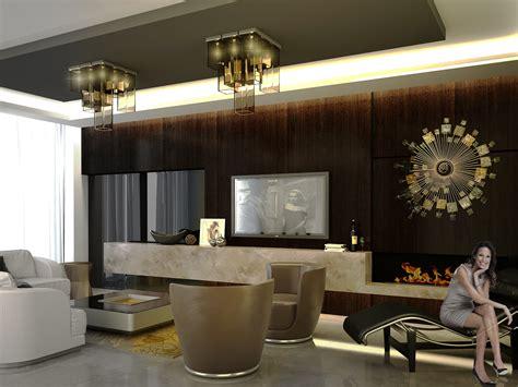elegant apartment interior design  behance