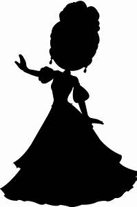 Princess Silhouette | Free vector silhouettes