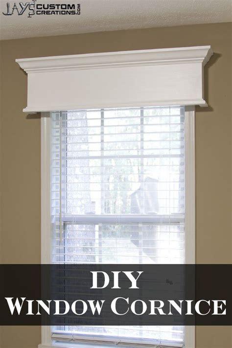 Window Cornice by Easy Diy Window Cornice Decor Ideas Window Cornices