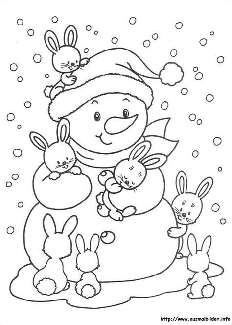weihnachtsbasteln für kinder 42 besten ausmalbilder winter bilder auf ausmalbilder winter malvorlagen und