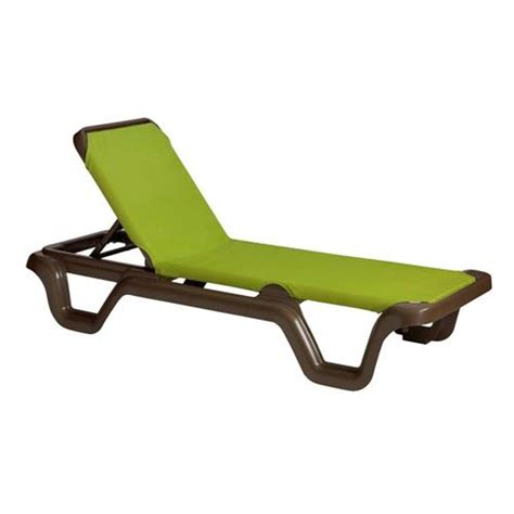 grosfillex chaise lounge chairs grosfillex us415237 marina fern sling chaise lounge