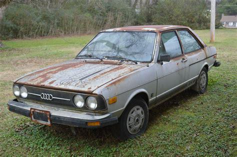 1978 audi fox base sedan 2 door front wheel dr parts project or restore classic audi other