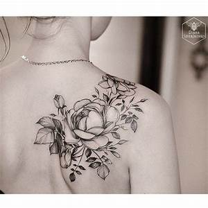 The 25+ best ideas about Flower Shoulder Tattoos on ...