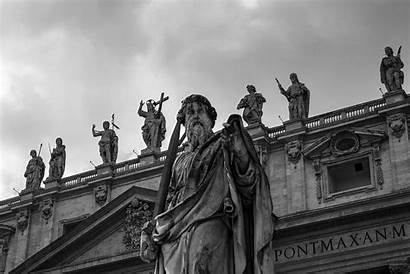 Vatican Church Statues Wallpapers History Pope Communism