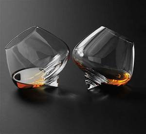 Spinning Top Cognac Glasses