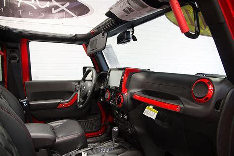jeep red interior custom built 2016 jeep wrangler sport unlimited