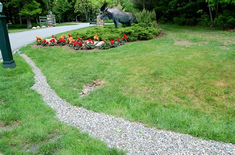 how to create drainage in yard installing french drains for yard drainage