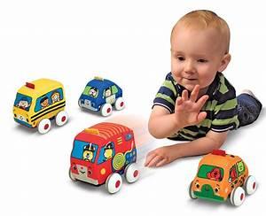 Amazon.com: Melissa & Doug K's Kids Pull-Back Vehicle Set ...