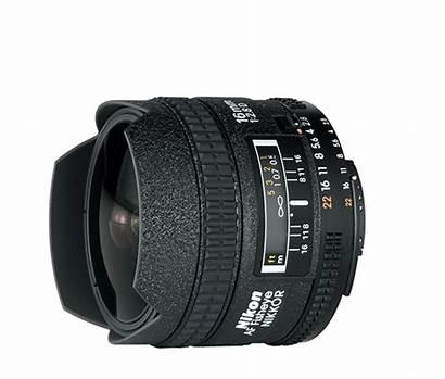 Fisheye Nikon 16mm Nikkor Af Lens 8d